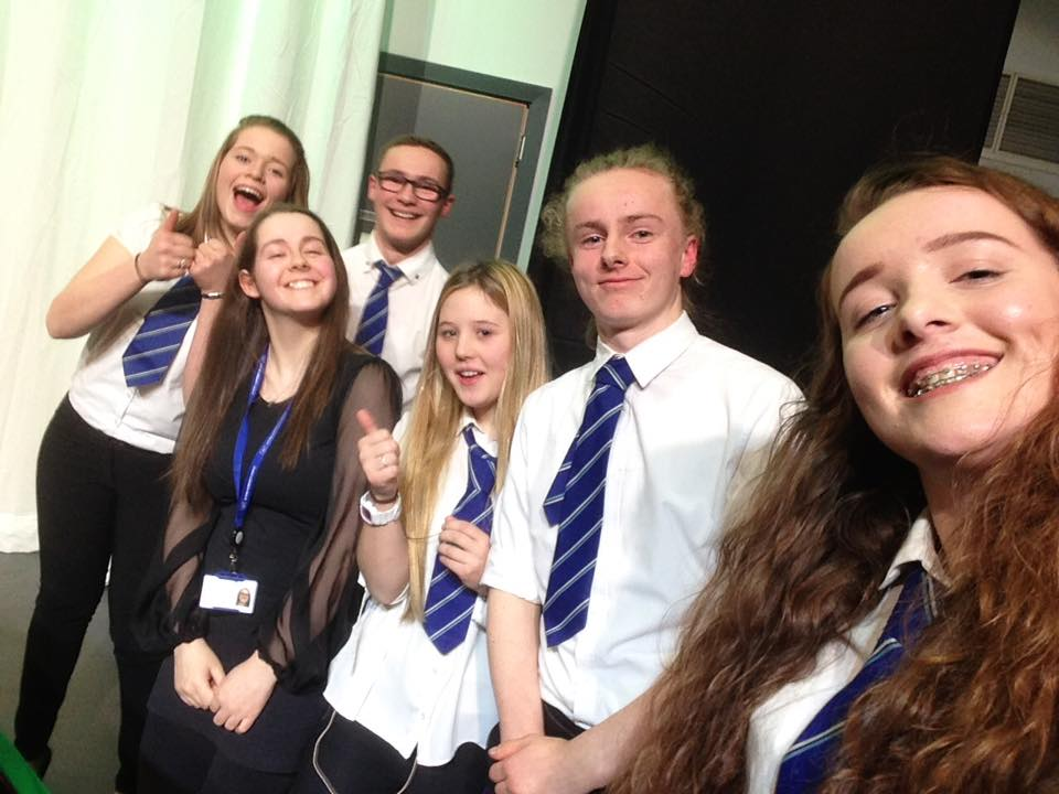 Higher music mid performance selfie!